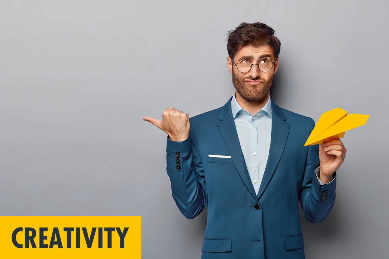 In fünf Minuten zu neuen Ideen